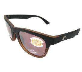 Costa Del Mar Copra Sunglasses - Matte Coconut Fade - Polarized Silver Mirror 580P