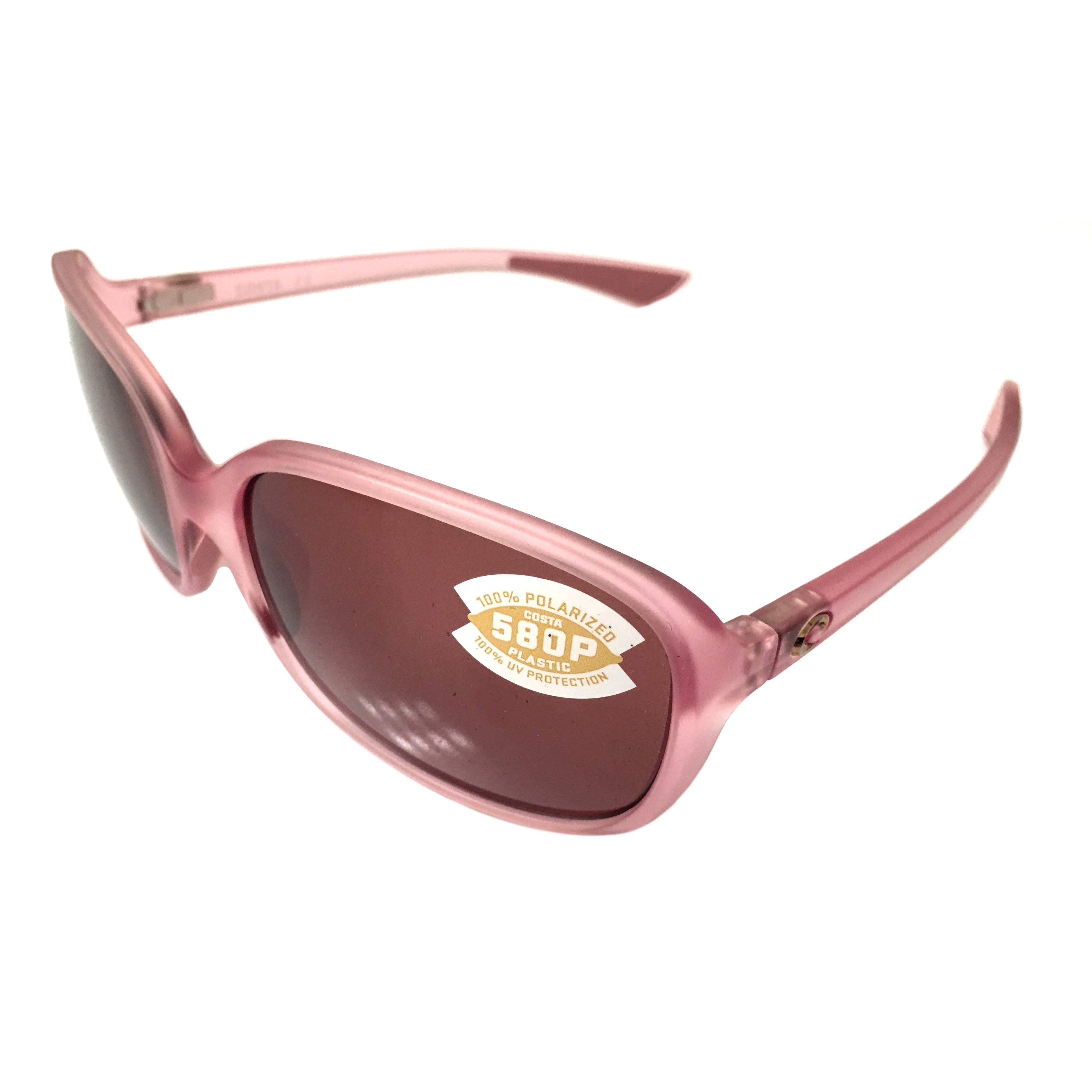 77ad819946f5c Costa Pink Inlet Polarized Pink Costa Sunglasses  Costa Del Mar Riverton  Sunglasses Matte Hibiscus Crystal