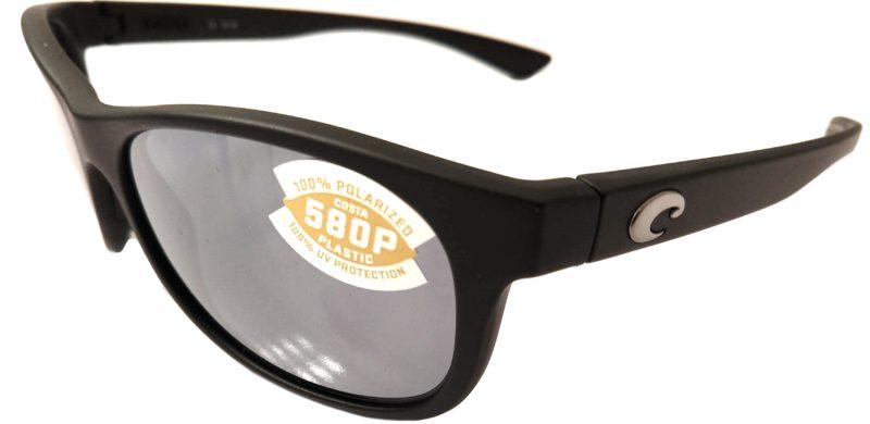 a7785d2138 Costa Del Mar Prop Sunglasses - Matte Black Frame POLARIZED Gray Silver 580P