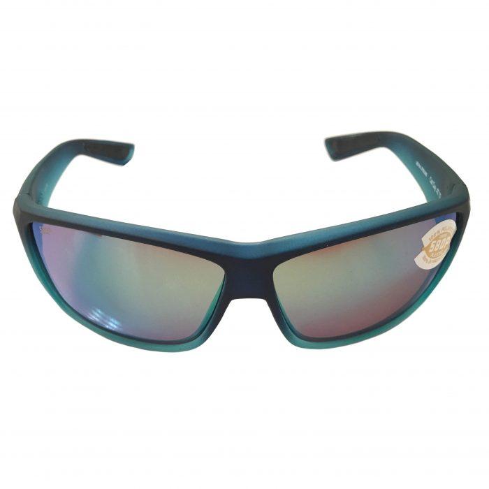 Costa Del Mar Cat Cay Sunglasses Matte Caribbean Fade POLARIZED Green Mirror 580P