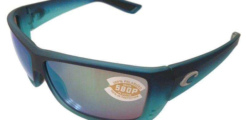 ee332c189ca0 Costa Del Mar Cat Cay Sunglasses Matte Caribbean Fade – Polarized Green  Mirror 580P Lens