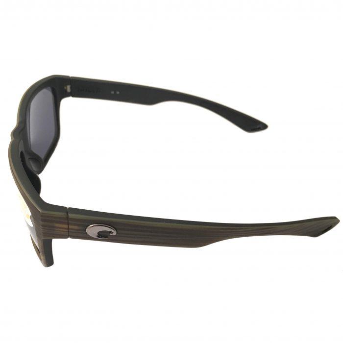 Costa Del Mar Playa Sunglasses - Verde Teak Black - POLARIZED Gray 580P Lens
