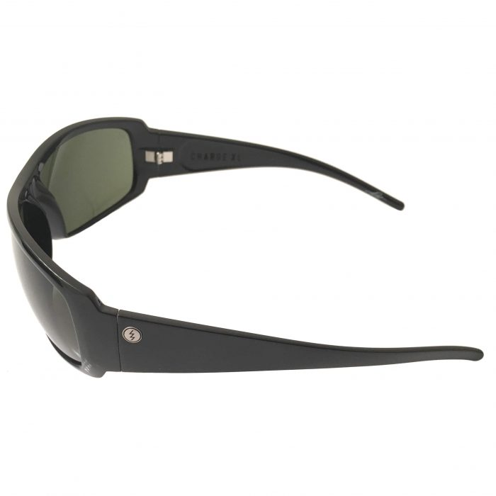 Electric Visual Charge XL Sunglasses - Gloss Black - Melanin Gray EE10401620