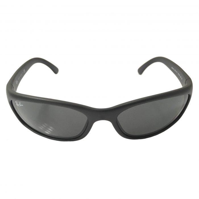 Ray-Ban Predator Sunglasses - Matte Black Frame - Green Lens RB4115 601S71
