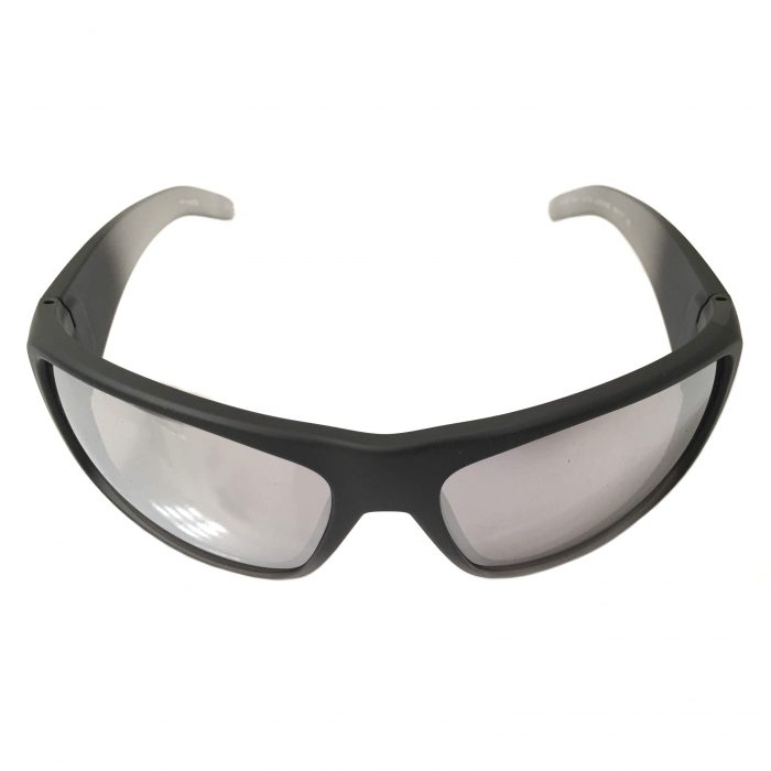 Arnette La Pistola Sunglasses - Fuzzy Black Translucent Silver Mirror AN4179 22536G