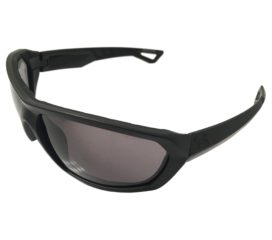 Under Armour Rage Sunglasses UA Performance Eyewear - Satin Black Frame - Gray Lens