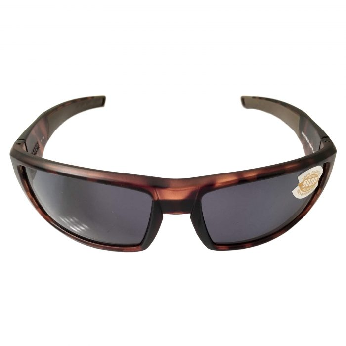 Costa Del Mar Rafael Sunglasses - Matte Retro Tortoise POLARIZED Gray 580P