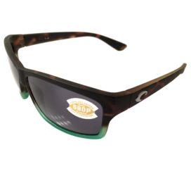Costa Del Mar Cut Sunglasses - Matte Tortuga Fade Frame - Polarized Gray 580P Lens
