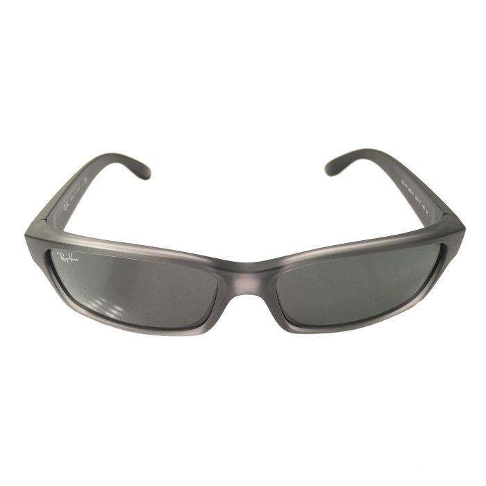 Ray-Ban Sunglasses RB4151 893/71- Transparent Grey Gradient - Dark Green