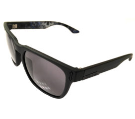 Dragon Alliance Monarch Sunglasses Asymbol  - Matte Black Schoph Art - Gray Lens
