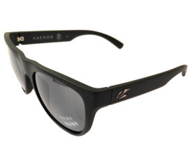 Kaenon Moonstone Sunglasses - Matte Black Frame - Polarized Gray Lens