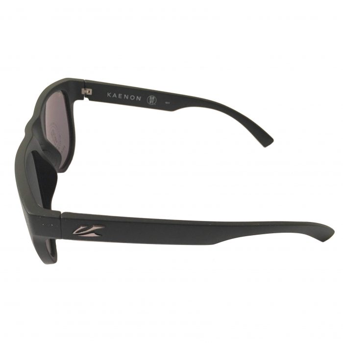 Kaenon Moonstone Sunglasses - Matte Black Label - POLARIZED G12M Gray Lens