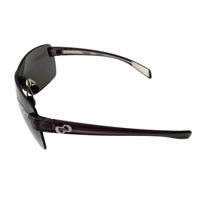 Native Eyewear Camas Sunglasses - Smoke Crystal Frame - POLARIZED N3 Reflex