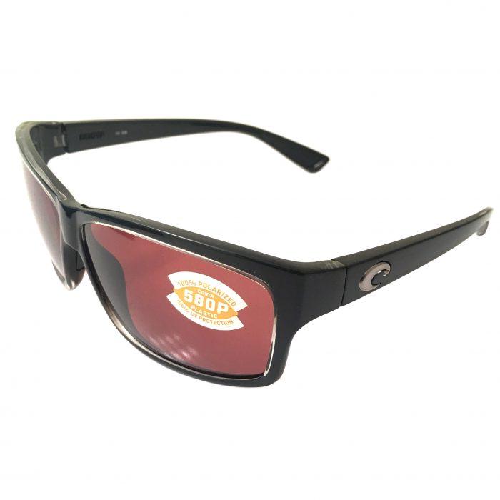 Costa Del Mar Cut Sunglasses - Black Clear Squall - POLARIZED Copper 580P Lens
