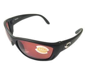 Costa Del Mar Fisch Sunglasses - Matte Black Frame - POLARIZED Copper 580P Lens