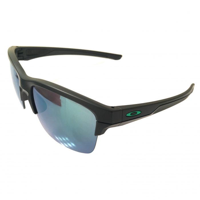 Oakley Thinlink Sunglasses - Matte Black Frame - Jade Iridium Lens OO9316-09