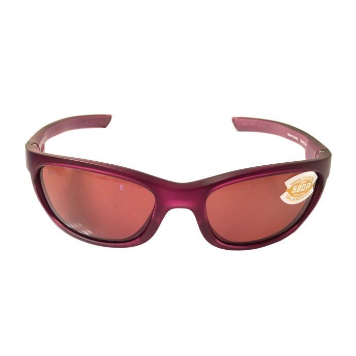 Costa Del Mar Trevally Sunglasses - Matte Orchid Purple POLARIZED Copper 580P