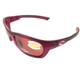 Costa Del Mar Trevally Sunglasses - Matte Orchid Purple - Polarized Copper 580P Lens
