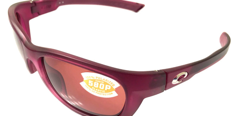 Costa Del Mar Trevally Sunglasses - Matte Orchid Purple POLARIZED Copper 580P
