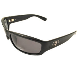 Hoven Vision Highway Sunglasses - Gloss Black Frame - Grey Lens 12-0101