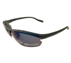 Native Eyewear Dash XP Sunglasses XTRA Lens Set - Matte Black Polarized Blue Reflex