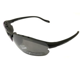 Native Eyewear Dash XP Sunglasses XTRA Lens - Charcoal POLARIZED Silver