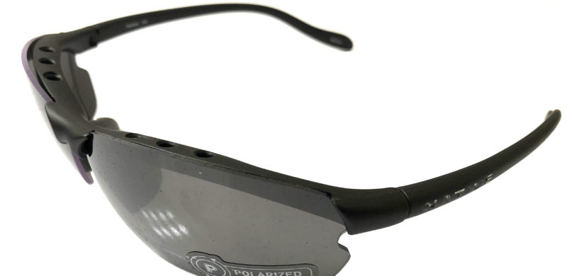 Native Eyewear Dash XP Sunglasses XTRA Lens - Charcoal POLARIZED Silver