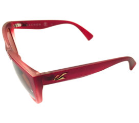 Kaenon Palisades Sunglasses - Cayenne Red Frame - Gold Polarized Copper Lens