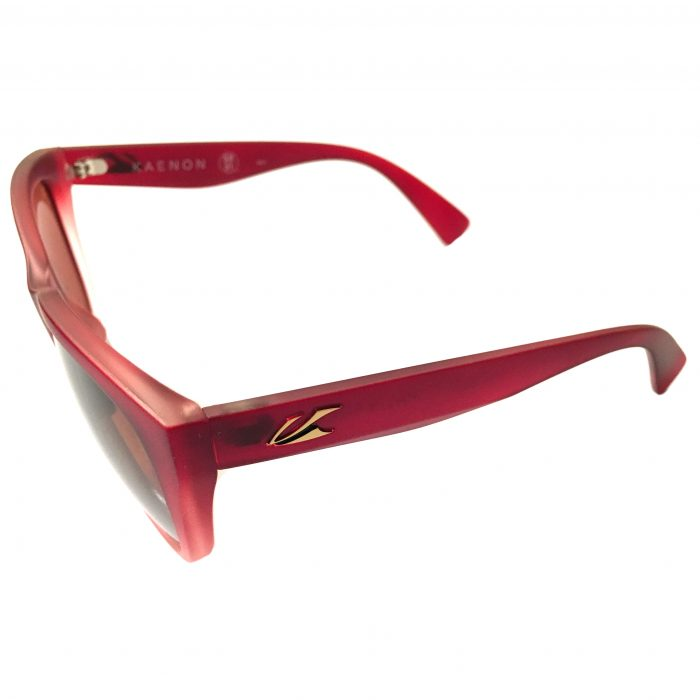 Kaenon Palisades Sunglasses - Cayenne Red w/ Gold POLARIZED Copper C120
