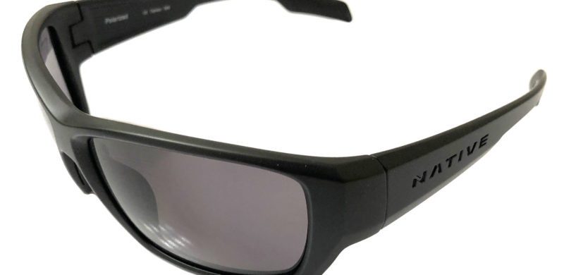 Native Eyewear Ward Sunglasses - Matte Black Frame - POLARIZED Gray Lens