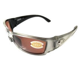 Costa Del Mar Corbina Sunglasses - Silver Frame - POLARIZED Copper 580P