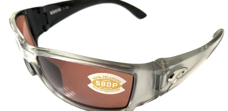 Costa Del Mar Corbina Sunglasses - Silver Frame - POLARIZED Copper 580P