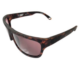 Spy Optic Angler Sunglasses - Matte Camo Tortoise Frame - Happy Bronze Lens