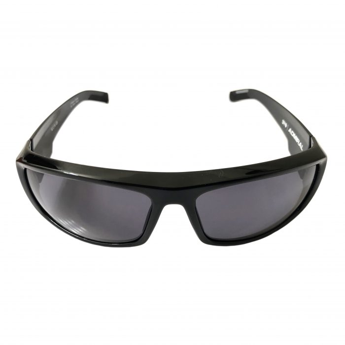 Spy Optic Admiral Sunglasses - Shiny Black Frame - Gray Lens