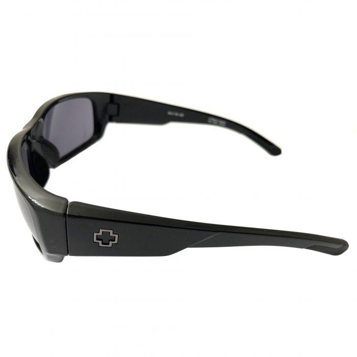 Spy Optic Caliber Sunglasses - Shiny Black Frame - Gray Lens