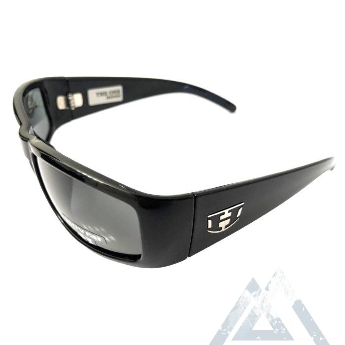 Hoven Vision The One Sunglasses ANSI Gloss Black POLARIZED Grey Lens