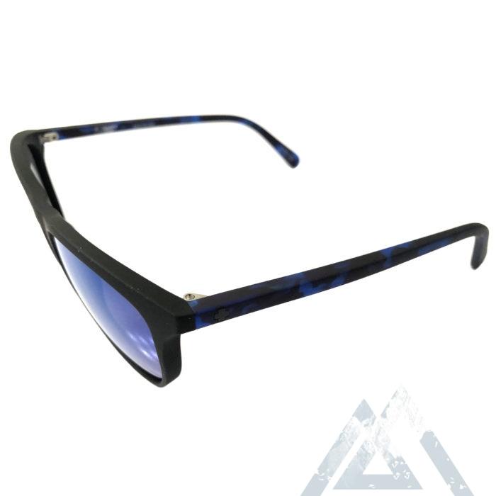 Spy Optic Cameo Sunglasses- Matte Black Navy Tortoise - Blue Spec Happy Lens