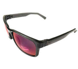 Under Armour Assist Sunglasses UA - Crystal Smoke Frame - Infrared Mirror Lens