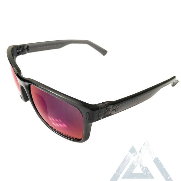Under Armour Assist Sunglasses UA - Crystal Smoke - Infrared Mirror