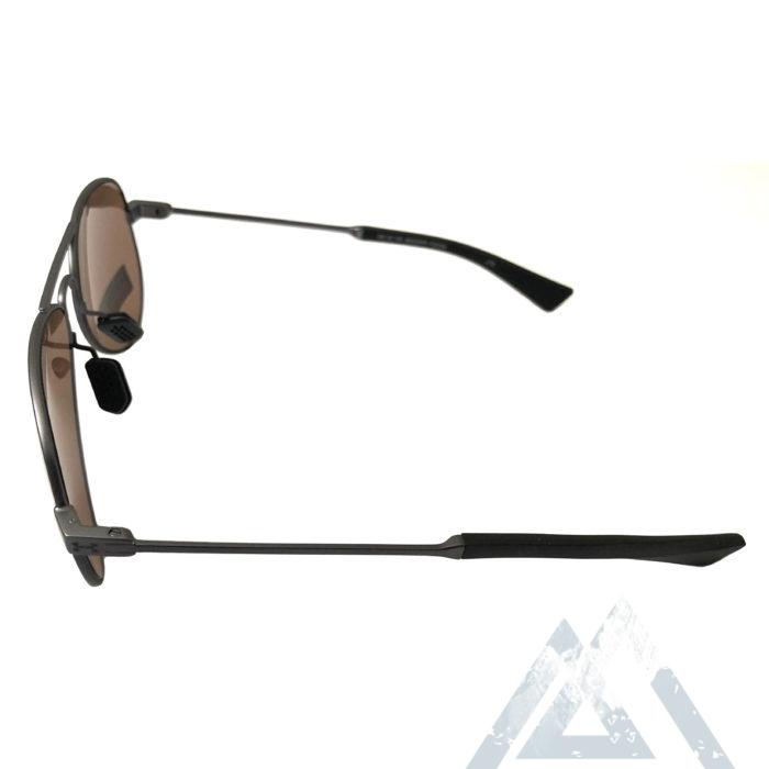 NEW Under Armour Getaway Sunglasses UA Satin Gunmetal Aviator - Road Tuned