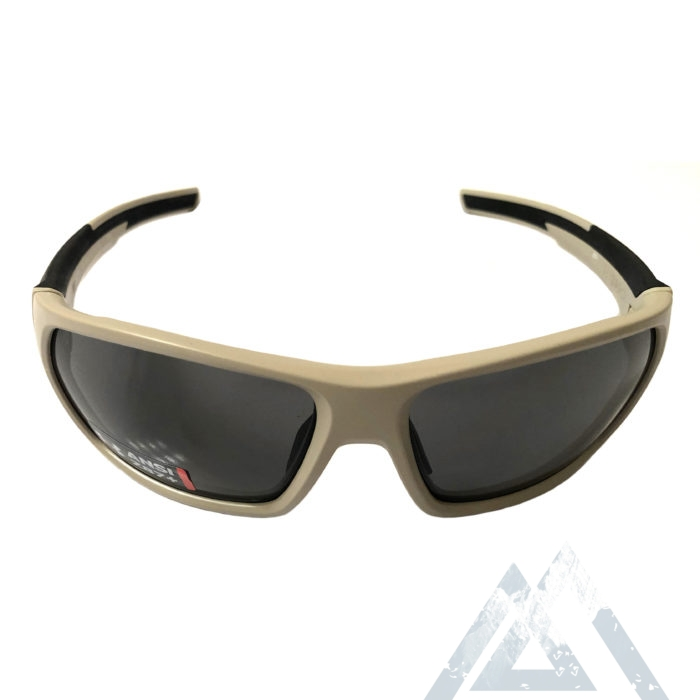 Under Armour Shock Sunglasses UA - Matte Sand ANSI Z87 Gray
