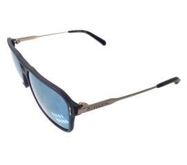 Dragon Def Sunglasses - Dragon Alliance DR 521S - Matte Navy Frame - Blue Lens