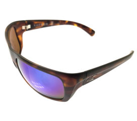 Kaenon Hodges Sunglasses - Matte Tortoise Frame - Coastal Mirror Polarized Lenses