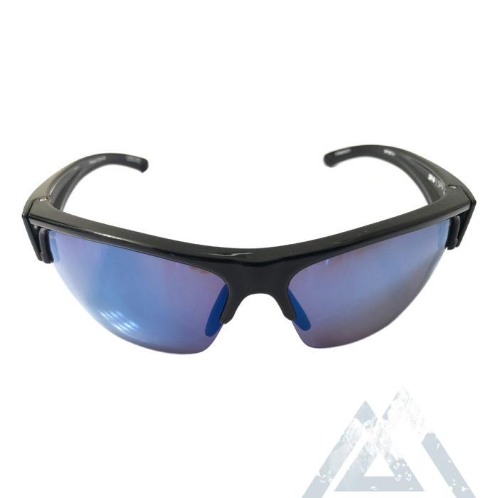 Spy Optic Sprinter Sunglasses ANSI Black POLARIZED Dark Blue