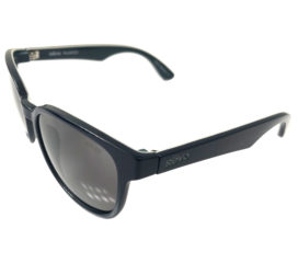 Revo Kash Sunglasses - Navy and Grey Frame - Polarized Graphite Lenses