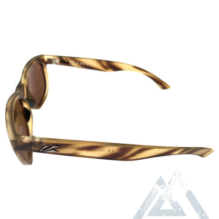 Kaenon Stinson Sunglasses - Driftwood Tortoise POLARIZED Brown Lens