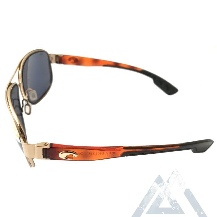 Costa Del Mar Conch Sunglasses - Rose Gold POLARIZED Gray 580P