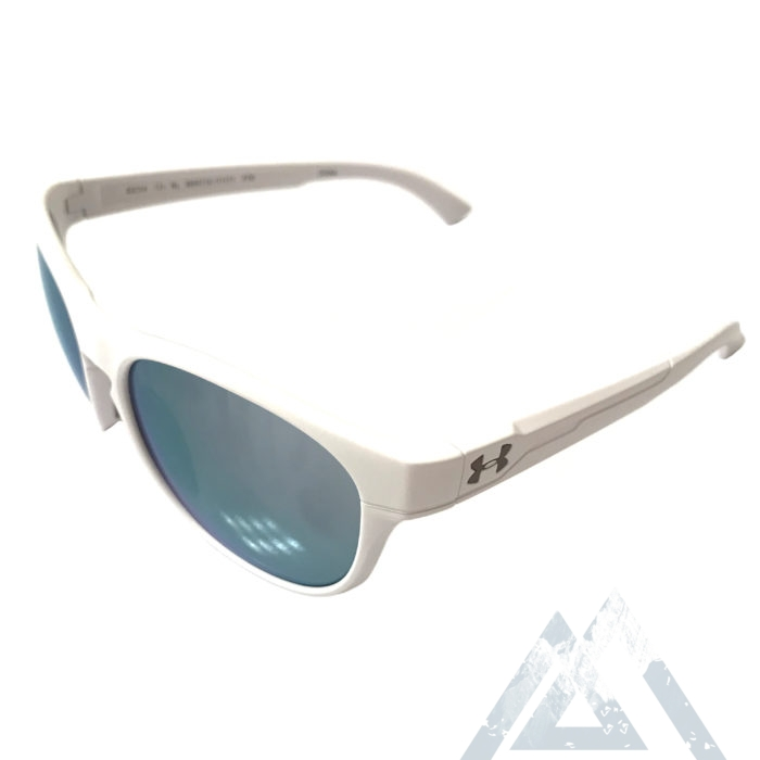 Under Armour Glimpse RL Sunglasses UA - Satin White - Purple Mirror
