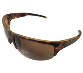 Electric Visual Tech One Pro Sunglasses - Sport Wrap Matte Tortoise Frame - Ohm Bronze