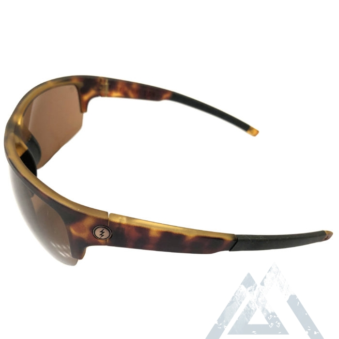 Electric Visual Tech One Pro Sunglasses - Matte Tortoise - Ohm Bronze